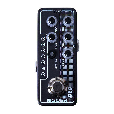 Mooer Micro Preamp 010 Two Stone Guitar Effects Pedal Based on TwoRock Coral