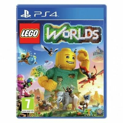 Lego Worlds PS4 PlayStation 4 Game PAL Version New Sealed  In Stock