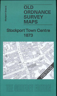 Map Of Stockport Town Centre 1873