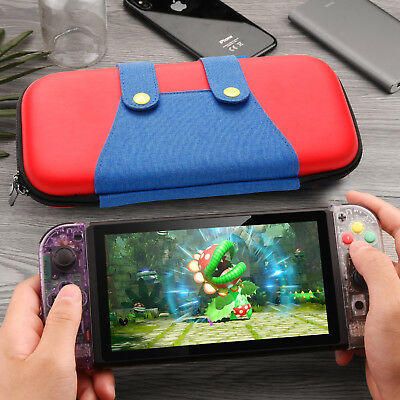 For Nintendo Switch Protective Storage  Mario Bag Accessories Carry Case Travel