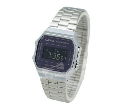 -Casio A168WEM-1D Digital Watch Brand New & 100% Authentic