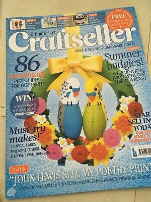 7 Issues Of Craftseller Magazine
