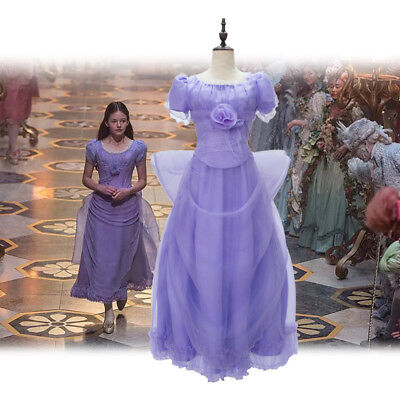 New The Nutcracker And The Four Realms Cosplay Clara Costume Women Dress Gift