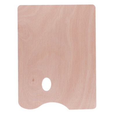 Wooden Paint Palette Art Paint Tray for Oil Painting Color Mixing Paint Tool