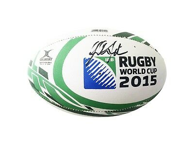 Signed Johnny Sexton Ball, Ireland - Rugby World Cup + *coa*