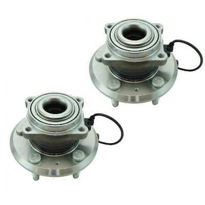 Rear Pair (2) Wheel Hub Bearing Assembly Fits 2010-2016 Chevrolet Equinox w/ABS