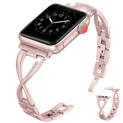For Apple Watch 38 40 42 44mm Stainless Steel Watch Band Strap iWatch Series 4 3