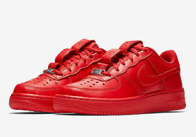 save off 2c560 3e1cd Nike Air Force 1 Af1 Qs University Red Out Running Fashion Shoes 6Y   7.5  Womens