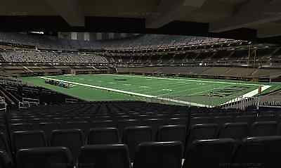(2)  New Orleans Saints 1st Home Playoff Game - Section 107 - Lower Level