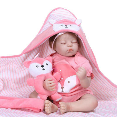 20inch Realistic Silicone Reborn Baby Girl Doll in Pink Jumpsuit Companies