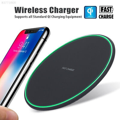 5973 Fast Qi Wireless Charger Stand Dock Pad For Samsung Galaxy S8 S9 Plus Note8