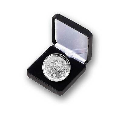 1 oz Kookaburra 2019 Silver Coin Encapsulated in Gift Case - the Perth Mint