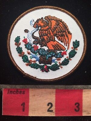 Mexican Coat Of Arms Mexico Patch - Latin America - Eagle Emblem 79A4