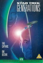 Star Trek 7 - Generations (DVD, 2000) BRAND NEW AND SEALED ***FREE POSTAGE **S3