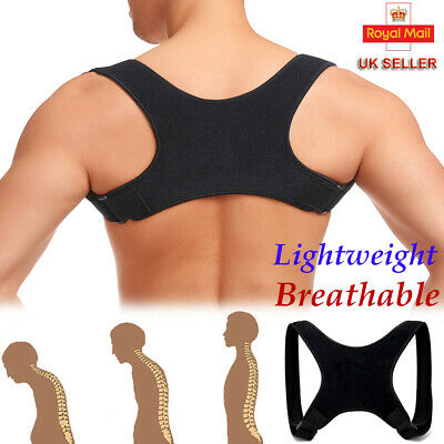 Posture Corrector Back Support Brace Shoulder Belt Men Women BAD Clavicle Body