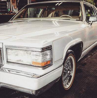 1982 Cadillac DeVille 1992 Body Kit 1982 cadillac coupe deville Pearl White, Moon Roof, factory caddy tru