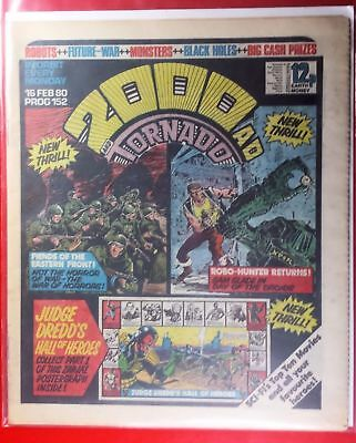 2000AD Progs 152 to 161 All 10 issues 1st Fiends of the Eastern Front. Complete
