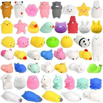 36PCS Mochi Squishy Toys FLY2SKY Animal Squishies Squeeze Kawaii Cat Stress...