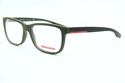 5a1ad76283 New Prada Sport Ps 02G Ubw-1O1 Green Authentic Eyeglasses Ps02G Frame Rx 56-