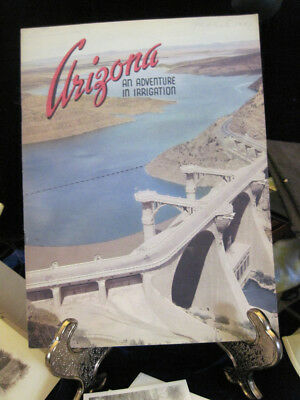 """1949 Arizona """"An Adventure in Irrigation"""" Story about  Salt River Project RARE"""