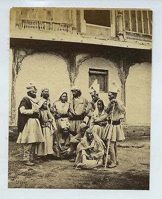 Group Of Guddies At Chumba India c1860s Photo By Samuel Bourne