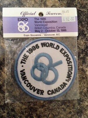 1986 World Exposition Patch, Vancouver Canada