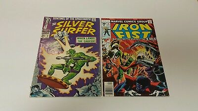 The Silver Surfer #2 (1968), 1st appearance, Iron Fist 15, 1st Print