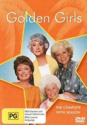THE GOLDEN GIRLS : COMPLETE SEASON 5  -  DVD - UK Compatible - sealed