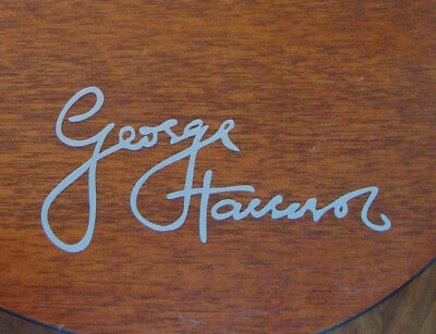 George Harrison sign vinyl sticker decal for your fender telecaster or guitar.