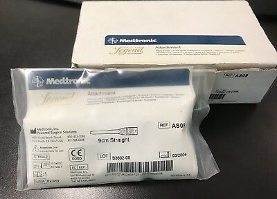 Medtronic Midas Rex Legend Large Bone Attachment 9cm Straight AS09 - Sealed Pack
