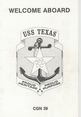 United States Navy - Welcome Aboard USS TEXAS CGN 39 Guided Missile Cruiser
