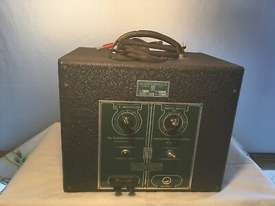 The CLOUGH-BRINGLE CO Frequency Modulator, Vintage Electronic Testing Equipment