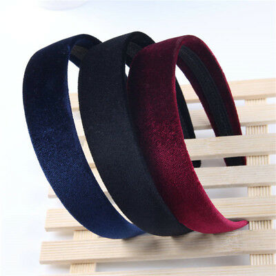 Fashion Ladies Girls Velvet Headband Women Wide Hairband Head Band Head Wrap