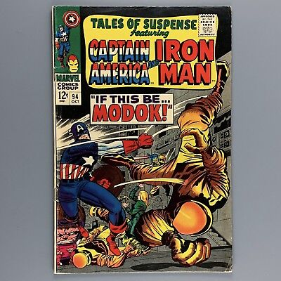 Tales of Suspense #94 First appearance of M.O.D.O.K. FN