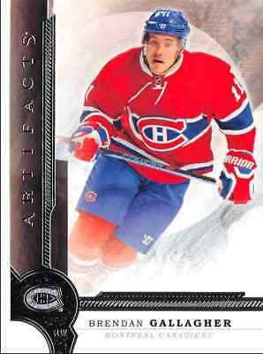 2016-17 Upper Deck Artifacts Gallagher Montreal Canadiens #56