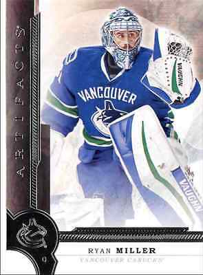 2016-17 Upper Deck Artifacts Miller Vancouver Canucks #36