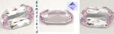 VS - 8.76cts !!! KUNZITE d' AFGHANISTAN - lumineux doux rose - soft pink - AAA++