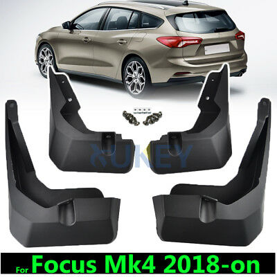 Mud Flaps For Ford Focus Mk4 2018-on Splash Guards Mudguards Front Rear 2019