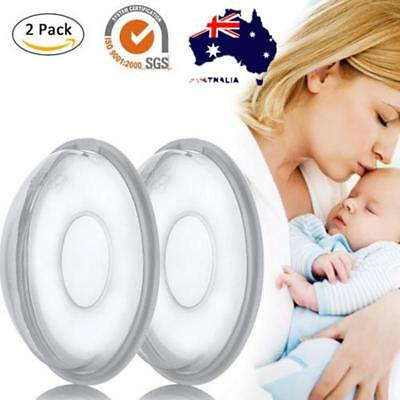 2pcs Breast Shell Nipple Former Milk Collector Cover Feeding Breast Pad Cover