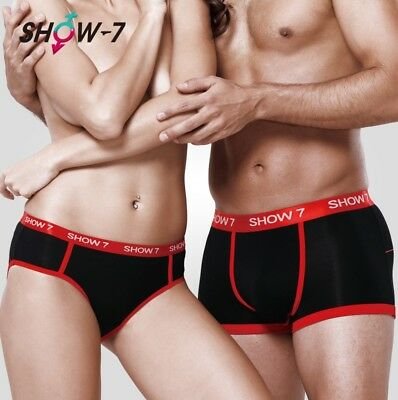 Lovers Couple Knickers Underwear Men's Boxer Bottom Shorts Briefs Womens Panties