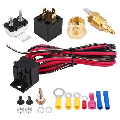 ELECTRIC COOLING THERMOSTAT Fan Sensor Temperature Switch