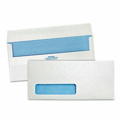 """100 x #10 Self-Seal White Business Envelopes with Left Window 4 1⁄8 x 9 1⁄2/"""""""