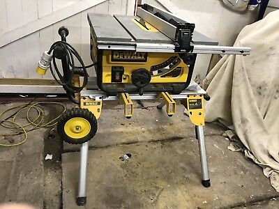 DeWalt Table Saw (DW745) and rolling stand (DE7400)