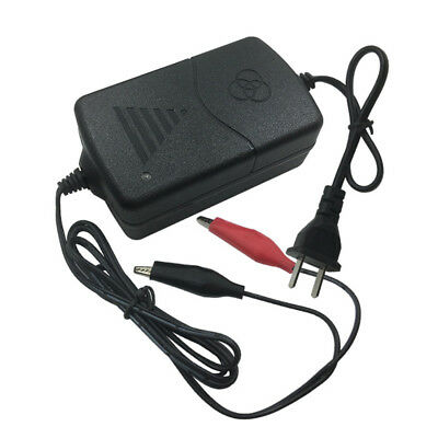 12V Battery Charger Maintainer Amp Volt Trickle for Car Truck Motorcycle US Plug