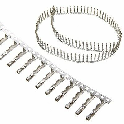 100pcs Female Pin Connector Housing Terminal 2.54mm for Dupont Jumper Wire Cable