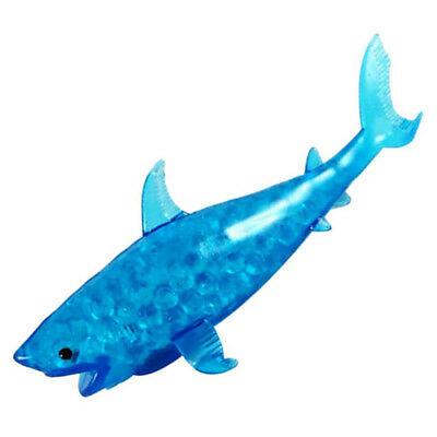 Shark Toy Stress Relieve Autism Special Need Soft Squeeze TPR Bubble Practical