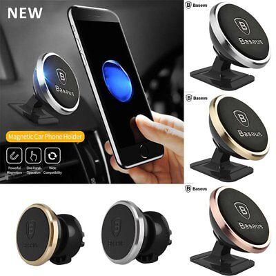 Baseus Universal Magnetic Stand/Air Vent Car Holder Mount For Smart Phone Lot BD