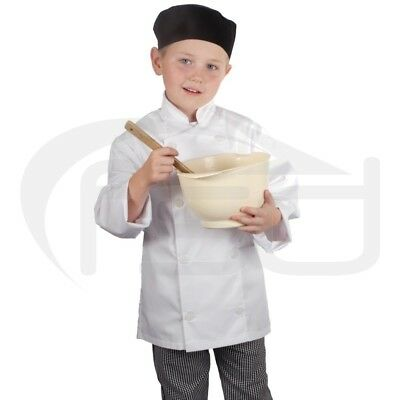 White - Kids Chef's Jacket / Childs Chef Coat (Various Ages)