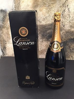 Champagner LANSON BLACK LABEL BRUT MAGNUM 1,5 Liter / 1500 ml / 150 cl