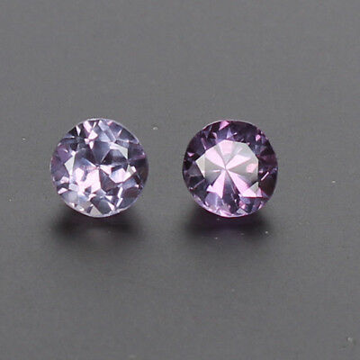 2.20 Ct Natural Color Change In Sunlight Alexandrite Perfect Pair Loose Gemstone